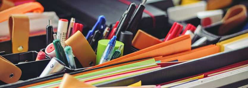 3 Tips for Keeping Office Supplies Organised